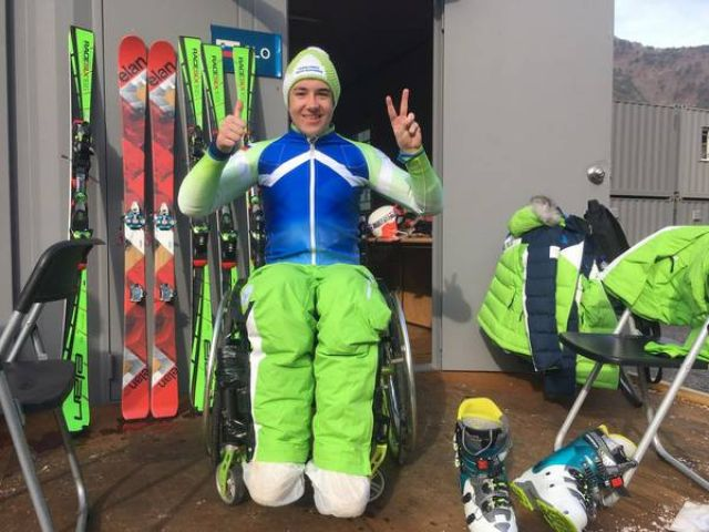 Paralympic athlete Jernej Slivnik to date the best Slovenian Paralympic athlete