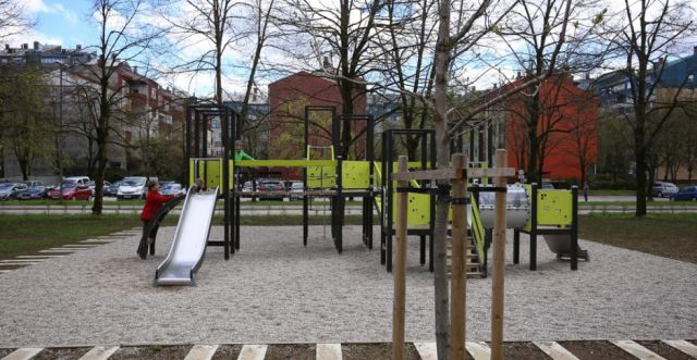 Ljubljana richer for a new green surface – Muste Family Park